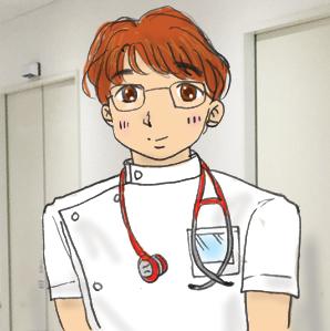 若いお医者さん